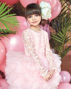 Sewing patterns for kids clothes pictures 23 ideas Beautiful Little Girls, Cute Little Girls, Beautiful Children, Cute Baby Girl Images, Cute Girl Image, Cute Girl Dresses, Flower Girl Dresses, Baby Gown, Clothes Pictures