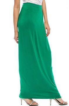 Shop the full range of Clothing and Accessories for Men and Women from the latest collection today. Jersey Maxi Skirts, Kelly Green, Online Clothing Stores, My Style, Shopping, Clothes, Collection, Women, Fashion
