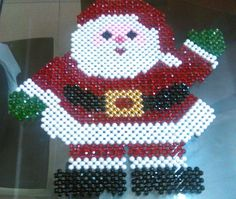 Christmas Toys, Christmas Ornaments, Beaded Banners, Beaded Crafts, Bead Art, Handicraft, Folk Art, Candles, Beads