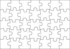 Template White PuzzleJpg   Inkleur