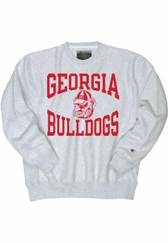 University of Georgia Bulldogs Crewneck Sweatshirt | University Of Georgia