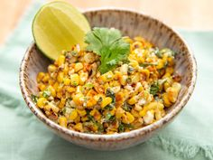 All the delights of Mexican street corn (elotes) in salad form, and you don't even have to fire up the grill to make it. All the delights of Mexican street corn (elotes) in salad form, and you don't even have to fire up the grill to make it. Corn Salad Recipes, Corn Salads, Sauce Recipes, Cabbage Recipes, Healthy Recipes, Mexican Food Recipes, Cooking Recipes, Greek Recipes, Kitchen Recipes