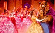 Favorite things at Disney World:  Beauty & The Beast show #TaleAsOldAsTime