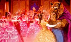 Beauty and the Beast on stage