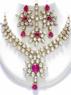 Kundan Necklace, for more design and wholesale price, visit www.impexfashions.com