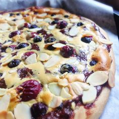 Chocolate-Cherry-Berry Dessert Pizzas