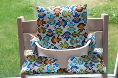 Maak je graag zelf een kussen voor de Tripp Trapp stoel ? Dat kan nu met dit patroon en duidelijke fotohandleiding.
