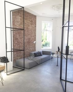 67 Awesome Minimalist Living Room Decor Ideas - All For Home İdeas Interior Design Living Room, Living Room Decor, Loft Spaces, Cuisines Design, Minimalist Living, Teen Bedroom Designs, House Design, Decoration, Architecture