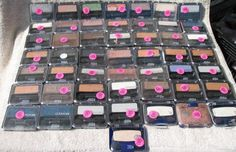 CoverGirl Eye Enhancers Eye Shadow Lot of 50 Assorted Shades