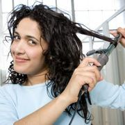 How to Make Straight Hair Stay Curly | eHow