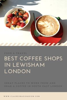 The best cafes in Lewisham to grab a warm beverage and work from Uk Capital, London Cafe, Work Opportunities, Great Place To Work, Best Coffee Shop, Cool Cafe, Healthy Habits, Beverage, Good Food