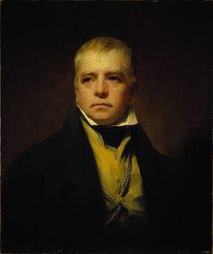 Portrait of Sir Walter Scott by Sir Henry Raeburn.