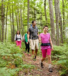 One Family's Hut-to-Hut Hiking Adventure: Author Catherine Newman and her family hit the trail and unplug along a hut-to-hut hiking system in western Maine.
