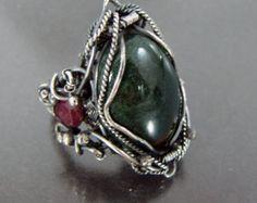 Wire art Wire wrapped jewelry Homemade jewelry by NKjewelrydesign