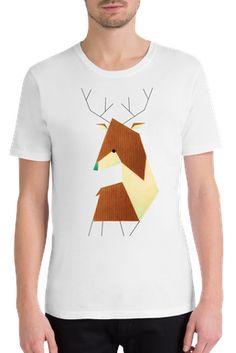 Hirsch - Anna-Maren Zehnter - Männer T-Shirt