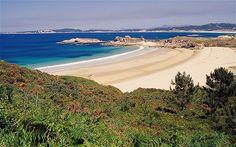 Entorno de la playa de la Lanzada (Sanxenxo-O Grove, Pontevedra -Galicia). Un arenal abierto al océano Atlántico cargado de leyendas y tradiciones