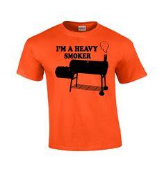 I'm A Heavy Smoker | BBQ T-shirt