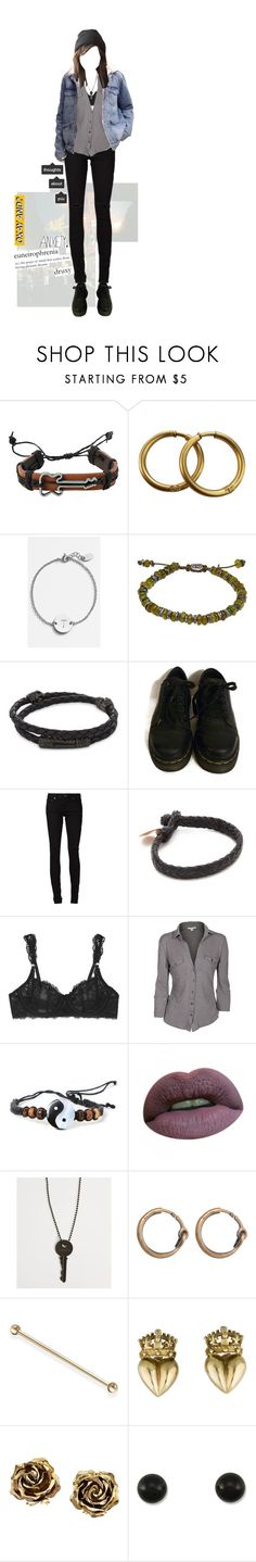 """that night, you said baby its alright"" by avintagemystery ❤ liked on Polyvore featuring Hot Topic, Chanel, Nashelle, M. Cohen, Nialaya, Dr. Martens, Yves Saint Laurent, Chamula, STELLA McCARTNEY and James Perse"