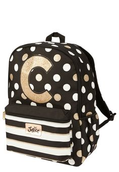 Justice is your one-stop-shop for on-trend styles in tween girls clothing & accessories. Shop our Initial Polka Dot Backpack. Teen Fashion Winter, Little Boy Fashion, Tween Fashion, Toddler Fashion, Fashion 2016, Fashion Trends, Fashion Hats, Fashion Wear, Fashion Clothes