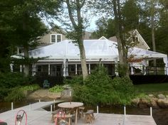 40' x 60' Clear Tent for Wedding