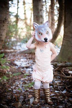 Fox mask, tutu du monde onesie, Joyfolie boots available at www.kokoblushandcompany.com styling by Koko Blush, Photos by Lookie Loo