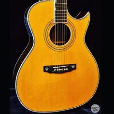 Doyle Dykes Signature Rosewood Guild Guitars Guild Acoustic Guitars, Acoustic Music, Beautiful