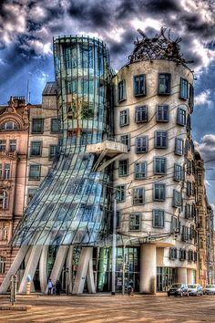 Fred and Ginger - Dancing House, Prague, Czech Republic - holidayspots4u