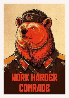 El oso ruso.