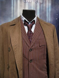 Tenth Doctor costume, via Flickr.