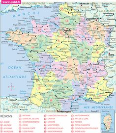 Travel and Trip infographic carte france Infographic Description carte france - Infographic Source - Travel Tours, Travel Maps, Bournemouth, Exeter, France Geography, Document Iconographique, Antibes France, France Map, Free Infographic
