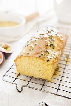 ... passionfruit madeira cake ...