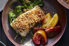 This heart-healthy dinner option is anything but boring. Each boneless, skinless cod fillet gets baked in a crispy coating of panko, chopped garlic and fresh parsley, so it tastes like a more delicious, less oily version of fried fish. Baking the fish also frees up your hands, and ensures your kitchen is free of any fishy aromas. Pairing the cod with sautéed kale makes this a well-rounded meal, and the addition of lemon makes the popular veggie shine. In fact, you'll be so surprised by how…