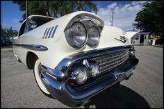 1958 Chevrolet Impala Convertible 283/230 HP, Automatic #Mecum #Kissimmee #WhereTheCarsAre