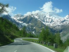 The Grossglockner High Alpine Road was built as a scenic route, a toll is assessed for passage. The famous alpine road leads you right into the heart of the Hohe Tauern National Park, the Grossglockner and its glacier, the Pasterze. At 12,460 feet, the pyramid-shaped Grossglockner is not only the highest mountain in Austria, it also counts among the highest peaks in the Alps.
