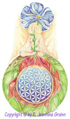 flower of life art -