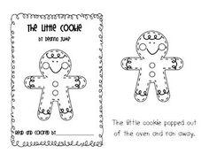 free gingerbread printable book