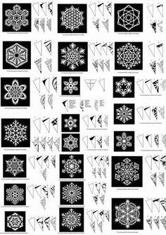 Snowflake Patterns by sara ester