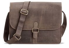 Ledertasche Messenger Bag ba Packenger