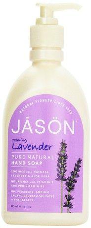 Jason Natural Products Lavender Liquid Satin Soap 473 ml by Jason Natural Products