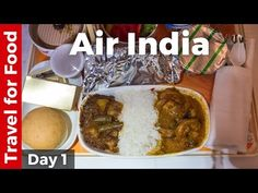 Day 1: Bangkok to Mumbai on Air India [Food Review] - On Day 1 of the Round The World for Food video guide series. How is the food on Air India in business class?