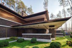 A Contemporary Prairie House by Yunakov Architecture in Kiev, Ukraine