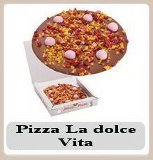 Pizza de ciocolata