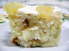 Imagem da receita Sobremesa gelada de abacaxi