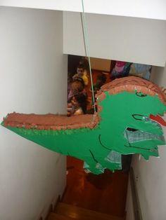 E hoje o tema escolhido é a Festa Dinossauros