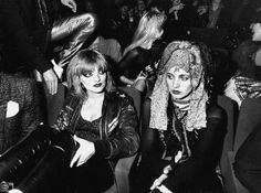 Nina Hagen & Lene Lovich at the premiere of Cha Cha, 1979