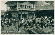 Ankara Kalenin Hisar Kapısı Önü Buğday Pazarı (1925)