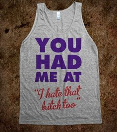 You Had Me At - Text Tees With Attitude - Skreened T-shirts, Organic Shirts, Hoodies, Kids Tees, Baby One-Pieces and Tote Bags