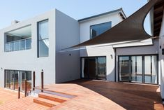 162 on Sunbird - Crontech Consulting Timber Deck, Timber Wood, Property Development, Design Development, Building Design, Building A House, Double Storey House, Deck Steps, Building Contractors