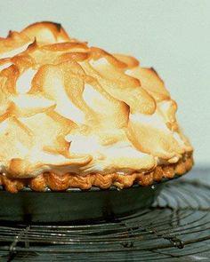 Comfort Desserts // Mile-High Lemon Pie Recipe