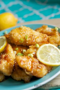 Asian Lemon Chicken that tastes perfect!